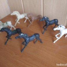 Figuras de Goma y PVC: LOTE 7 FIGURAS ANTIGUAS CABALLOS LAFREDO ( PECH , JECSAN , REAMSA , COMANSI , LAFREDO , ETC). Lote 277678853