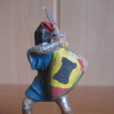 Figuras de Goma y PVC: FIGURA ANTIGUA SOLDADO MEDIEVAL, ( PECH , JECSAN , REAMSA , OLIVER , COMANSI , ETC). Lote 277682318