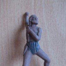 Figuras de Goma y PVC: FIGURA ANTIGUA INDIO OESTE EN GOMA ( PECH , JECSAN , REAMSA , COMANSI , ETC). Lote 277684948