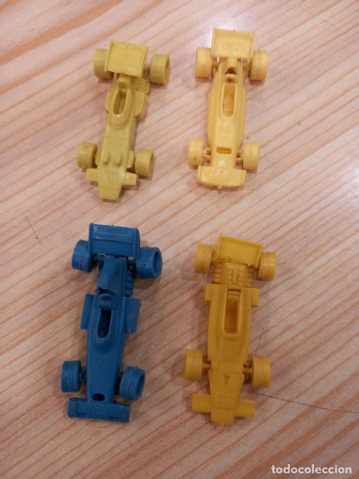 Figuras de Goma y PVC: GRAN LOTE DE COCHES BOLIDOS BIMBO PREMIUM DUNKIN TITO ORIGINALES AÑOS 70 - Foto 2 - 277693258