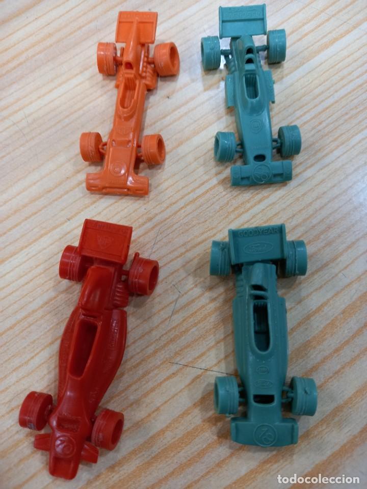 Figuras de Goma y PVC: GRAN LOTE DE COCHES BOLIDOS BIMBO PREMIUM DUNKIN TITO ORIGINALES AÑOS 70 - Foto 3 - 277693258