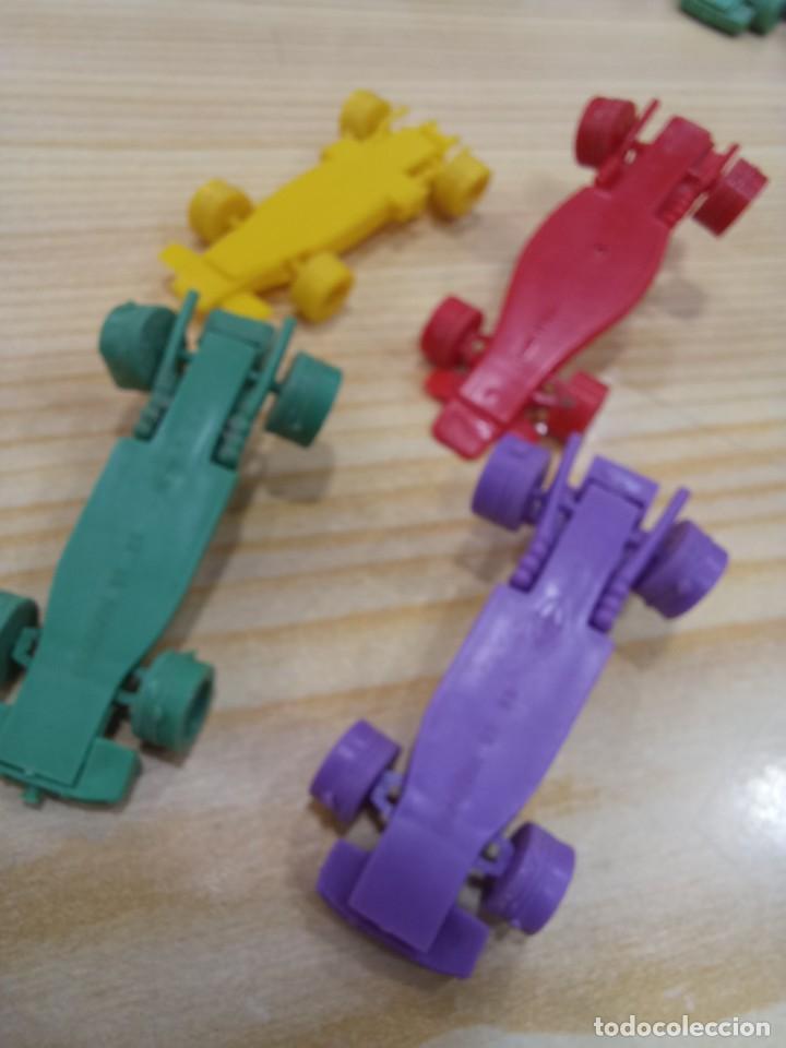 Figuras de Goma y PVC: GRAN LOTE DE COCHES BOLIDOS BIMBO PREMIUM DUNKIN TITO ORIGINALES AÑOS 70 - Foto 6 - 277693258