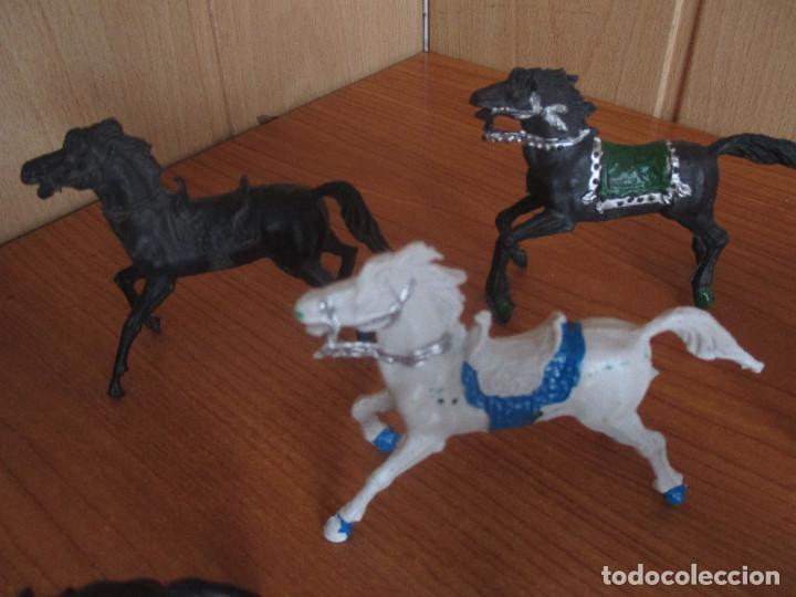 Figuras de Goma y PVC: LOTE 7 CABALLOS ANTIGUOS ( PECH , REIGON , JECSAN , REAMSA , OLIVER , COMANSI , ETC) - Foto 2 - 277719503