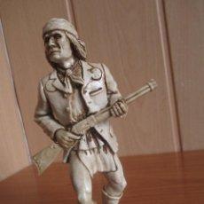 Figuras de Goma y PVC: COMANSI: FIGURA INDIO OESTE ,THE WILD WEST, GERONIMO DE COMANSI, 16 CM , SIN PINTAR. Lote 277720553
