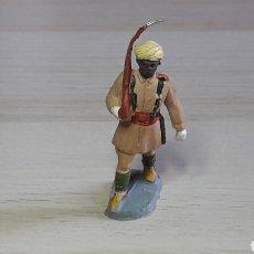 Figuras de Goma y PVC: FIGURA DESFILE INDÍGENA REGULARES, FABRICADO EN GOMA, PECH HERMANOS, ORIGINAL AÑOS 50.. Lote 277849438