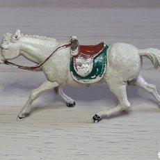 Figuras de Goma y PVC: CABALLO PARA COWBOY OESTE, FABRICADO EN GOMA, GAMA MADE IN SPAIN, ORIGINAL AÑOS 50.. Lote 277852378