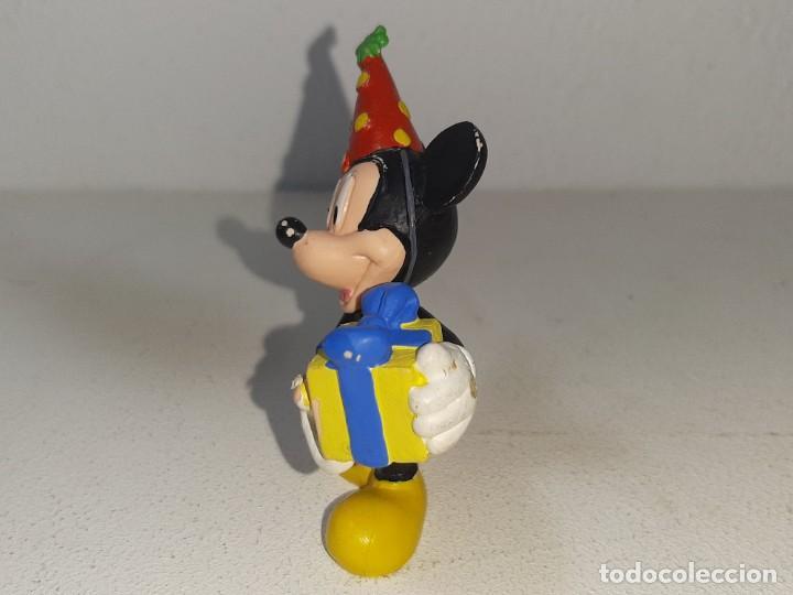 Figuras de Goma y PVC: BULLY : ANTIGUA FIGURA DE GOMA DE MICHEY MOUSE CUMPLEAÑOS MADEMIN GERMANY AÑOS 80 - Foto 4 - 278215108