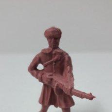 Figuras de Goma y PVC: SOLDADO RUSO . ORIGINAL DUNKIN . AÑOS 70 / 80. Lote 278218223