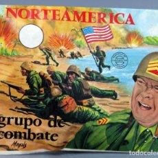 Figuras de Goma y PVC: SOBRE SORPRESA MONTAPLEX NORTEAMÉRICA GRUPO COMBATE REEDICIÓN AÑOS 90 CON SOBRE ORIGINAL. Lote 278369018