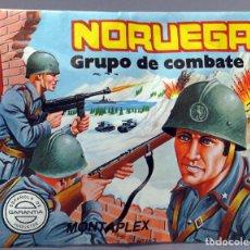 Figuras de Goma y PVC: SOBRE SORPRESA MONTAPLEX NORUEGA GRUPO DE COMBATE REEDICIÓN AÑOS 90 CON SOBRE ORIGINAL. Lote 278369083