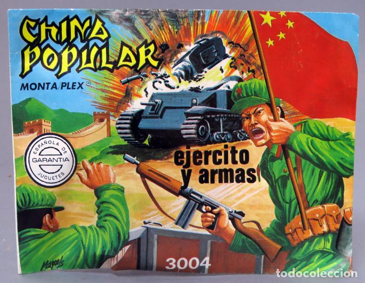 SOBRE SORPRESA MONTAPLEX CHINA POPULAR EJÉRCITOS ARMAS REEDICIÓN AÑOS 90 CON SOBRE ORIGINAL (Juguetes - Figuras de Goma y Pvc - Montaplex)