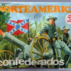Figuras de Goma y PVC: SOBRE SORPRESA MONTAPLEX NORTEAMÉRICA CONFEDERADOS REEDICIÓN AÑOS 90 CON SOBRE ORIGINAL. Lote 278370278