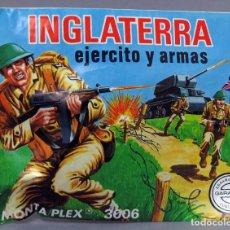 Figuras de Goma y PVC: SOBRE SORPRESA MONTAPLEX INGLATERRA EJÉRCITO ARMAS REEDICIÓN AÑOS 90 CON SOBRE ORIGINAL. Lote 278370328