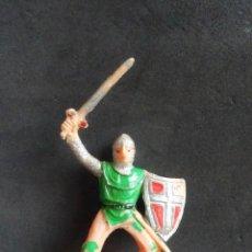 Figuras de Goma y PVC: JECSAN EL CID FIGURA A CABALLO. Lote 278530658