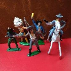 Figuras de Goma y PVC: COWBOYS PECH. Lote 278563578