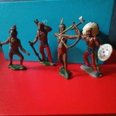 Figuras de Goma y PVC: INDIOS TEIXIDO GOMA. Lote 278639093