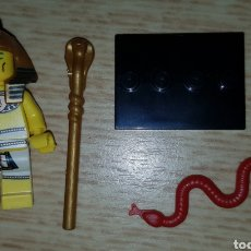 Figuras de Goma y PVC: MINIFIGURA COMPATIBLE FARAÓN EGIPCIO EGIPTO IDEAL BELÉN NAVIDAD. Lote 278842778