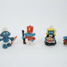 Figuras de Goma y PVC: FIGURAS PITUFOS. Lote 278849453