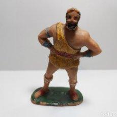 Figuras de Goma y PVC: TAURUS SERIE EL JABATO ESTEREOPLAST AÑOS 50-60. Lote 279337268