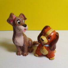 Figuras de Goma y PVC: LA DAMA Y EL VAGABUNDO BULLYLAND. Lote 279508148