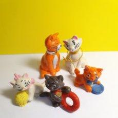 Figuras de Goma y PVC: LOS ARISTOGATOS BULLYLAND. Lote 279515708