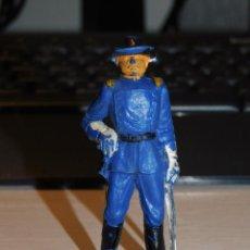 Figuras de Borracha e PVC: JECSAN *SOLDADO NORDISTA, FEDERAL* SERIE YANQUIES, 7º DE CABALLERÍA. Lote 280457328