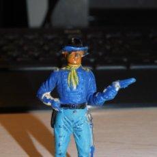 Figuras de Borracha e PVC: JECSAN *SOLDADO NORDISTA, FEDERAL* SERIE YANQUIES, 7º DE CABALLERÍA. Lote 280457653