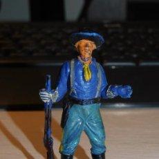 Figuras de Borracha e PVC: JECSAN *SOLDADO NORDISTA, FEDERAL* SERIE YANQUIES, 7º DE CABALLERÍA. Lote 280457728