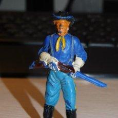 Figuras de Borracha e PVC: JECSAN *SOLDADO NORDISTA, FEDERAL* SERIE YANQUIES, 7º DE CABALLERÍA. Lote 280457833