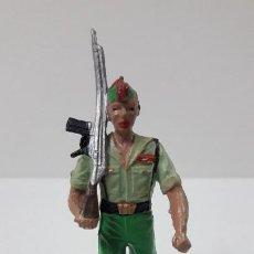 Figuras de Goma y PVC: LEGIONARIO EN DESFILE . REALIZADO POR GOMARSA / SOLDIS . ORIGINAL AÑOS 70. Lote 280526608