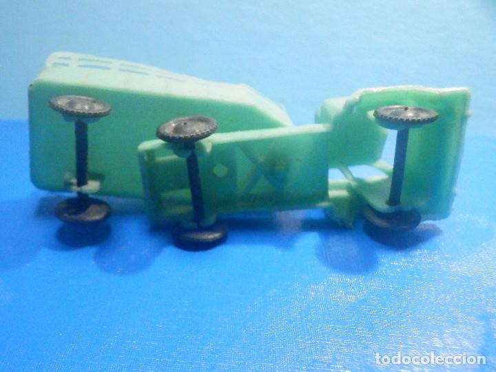 Figuras de Goma y PVC: Camión Plástico - Cabeza Tractora con remolque caja abierta - Ganado, Campo - Kiosko 60´s 70´s - Foto 5 - 280724528