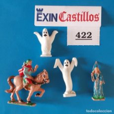 Figuras de Goma y PVC: ALYMER ALMIRALL CHAUVE BENEITO - LOTE 422 PERSONAJES EXIN CASTILLOS. Lote 280975758