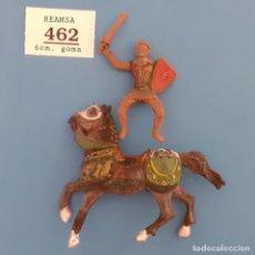 Figuras de Goma y PVC: JECSAN REAMSA COMANSI - LOTE 462 REAMSA - MEDIEVAL A CABALLO. Lote 280976203