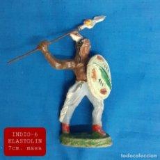 Figuras de Goma y PVC: JECSAN REAMSA COMANSI - INDIO 6 ELASTOLIN MASA. Lote 280977633