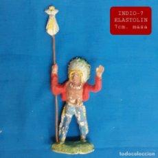 Figuras de Goma y PVC: JECSAN REAMSA COMANSI - INDIO 7 ELASTOLIN MASA. Lote 280978258