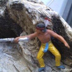 Figuras de Goma y PVC: INDIO DE JESAN. Lote 281947143