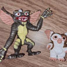Figurines en Caoutchouc et PVC: LOTE FIGURAS PVC COMICS SPAIN GREMLINS GIZMO Y STRIPE MUÑECOS COLECCIÓN AÑOS 80 90. Lote 282172918