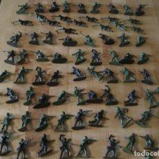 Figuras de Goma y PVC: JUGUETE SOLDADO /79) MUÑECO PLASTICO MONTAPLEX DIVERSAS POSES. Lote 282183543