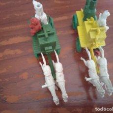 Figuras de Goma y PVC: LOTE A CARRETAS BOMBEROS TIPO MONTAPLEX. Lote 282231148