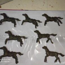 Figuras de Goma y PVC: CABALLOS INDIOS Y VAQUEROS MINI OESTE COMANSI. Lote 282495978