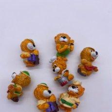 Figuras Kinder: FIGURAS HUEVO KINDER FERRERO - LEONES. Lote 282590578
