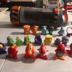 Figuras de Goma y PVC: LOTE 20 MUÑECOS TIPO GOGOS MBI, MOOSE Y OTROS. MÁS CAPSULA GMFUNGUS AMUNGUS. Lote 283135168