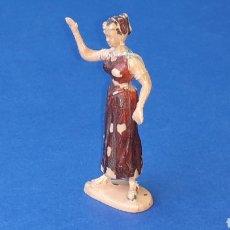 Figuras de Borracha e PVC: CLAUDIA, SERIE EL JABATO, FABRICADA EN PLÁSTICO, ESTEREOPLAST SPAIN, ORIGINAL AÑOS 60.. Lote 283243733