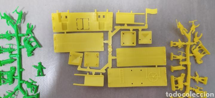 Figuras de Goma y PVC: Lote oeste montaplex fort Nevada - Foto 2 - 283306238