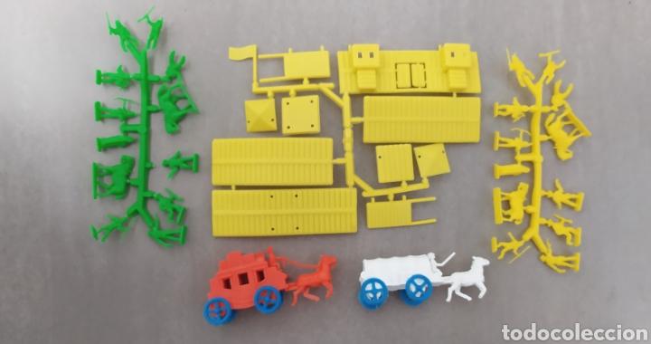 LOTE OESTE MONTAPLEX FORT NEVADA (Juguetes - Figuras de Goma y Pvc - Montaplex)