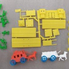 Figuras de Goma y PVC: LOTE OESTE MONTAPLEX FORT NEVADA. Lote 283306238