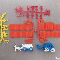 Figuras de Goma y PVC: LOTE OESTE MONTAPLEX FORT SIOUX. Lote 283317063