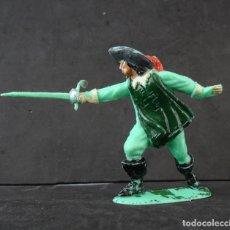 Figuras de Goma y PVC: JECSAN MOSQUETERO FIGURA 5. Lote 283459843