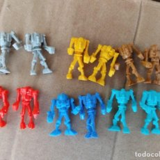 Figuras de Goma y PVC: LOTE 12 FIGURAS ROBOTS DUNKIN. Lote 283471508