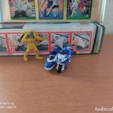 Figuras de Goma y PVC: 2 FIGURAS DE POWER RANGERS,AÑOS 90,BANDAI, KINDER. Lote 283471858